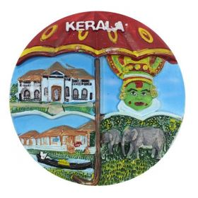 Kerala Ethnic Beauty Scenery Mould