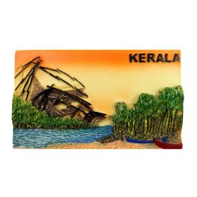 Kerala Fishing Net Scenery Mould